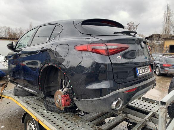 НА ЧАСТИ! Alfa Romeo Stelvio 2.2 D, Q4, 4x4, 2019 г., 2000 км, НОВА