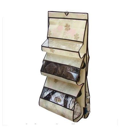 Органайзер для хранения сумок на 6 отделов
