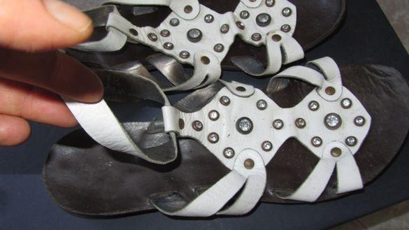Продавам обувки летни от естествена кожа