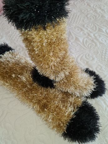 Дамски плетени чорапи