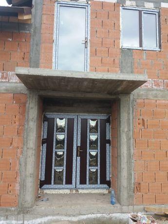 Uși pvc cu geam termopan direct din fabrica!