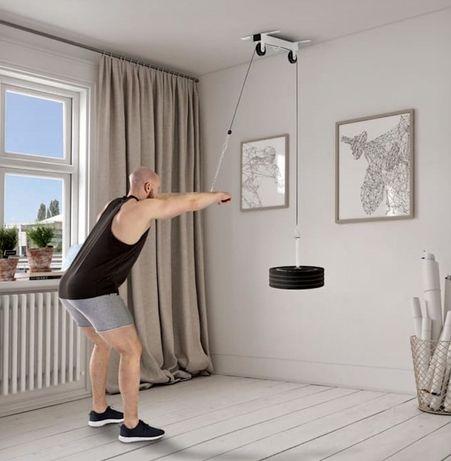 Aparat cablu, sfoara triceps, spate, Antebrat etc nou, made in germany