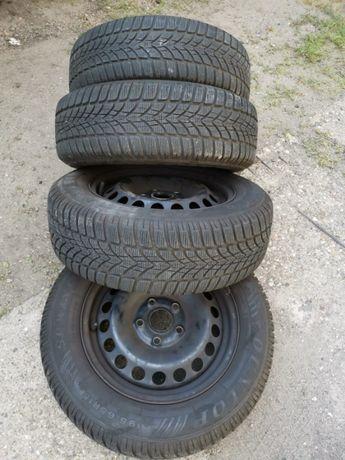 Джанти със зимни гуми за VW 195-65-15 цена150лв
