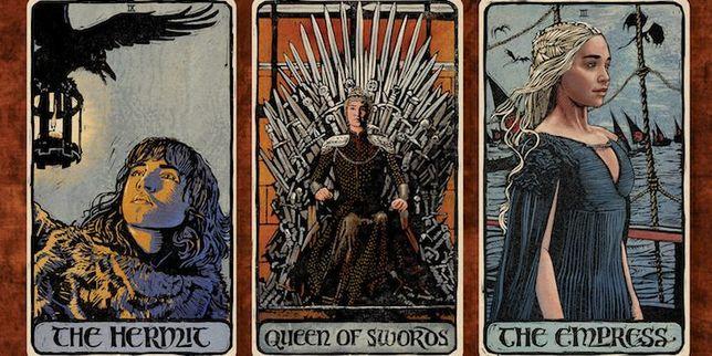 Game of Thrones/Urzeala Tronurilor-CARTI TAROT ed lux,format mare+cart