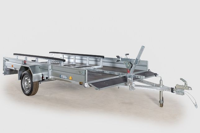 Продается легковой Прицеп ЛАВ 81012В для снегоходов, 3500 на 2000 мм
