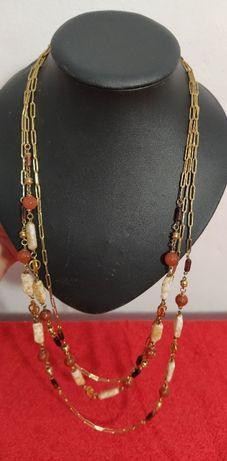 Colier Perle de cultura / margele Vintage Uk #52