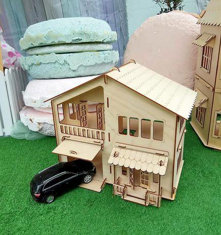 Кукольный домик для барби и лол. Кукольная мебель.