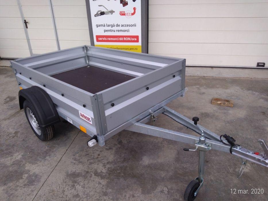 Remorca auto intarita basculabila ATV 206x122x39 cm 750 kg