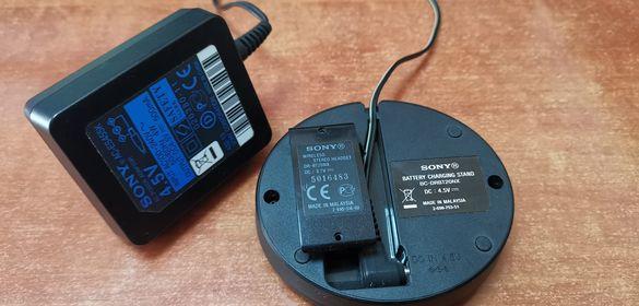 sony зарядно за слушалки