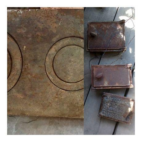 Дверцы, колосник, плита для печки
