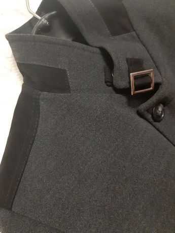 Ново мъжко палто тип сако Lazarini размер S