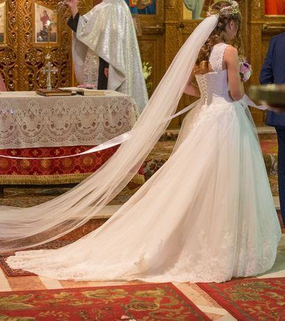 The dress - Rochie de mireasa tip printesa