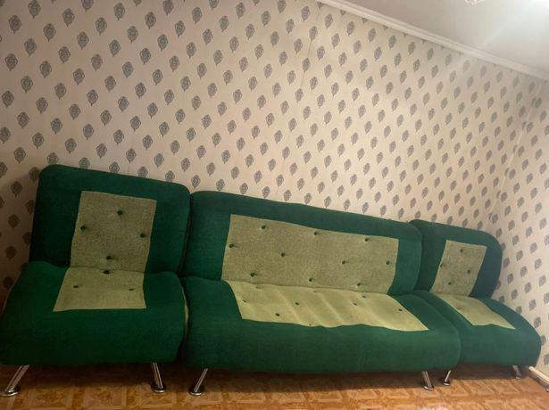 Продам диван и два кресла 40 000