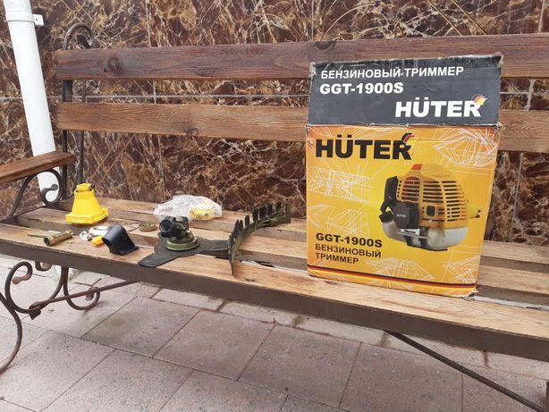 Бензиновый триммер Huter