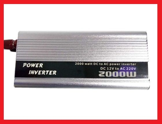 Преобразователь напряжения (инвертор) DOXIN 12В>220В, 2000Вт