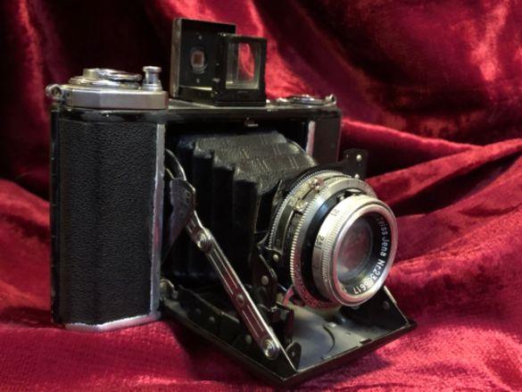 Стар фотоапарат Zeiss Ikon Ikonta 521/16