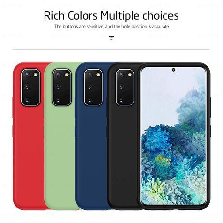 Матов Силиконов Кейс за Samsung Galaxy S20FE / S20 / S20+ S20 Ultra