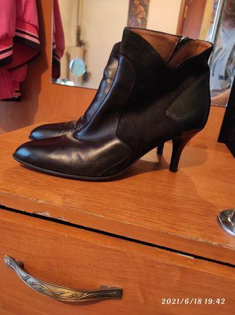 Продаётся кожаная женская обувь