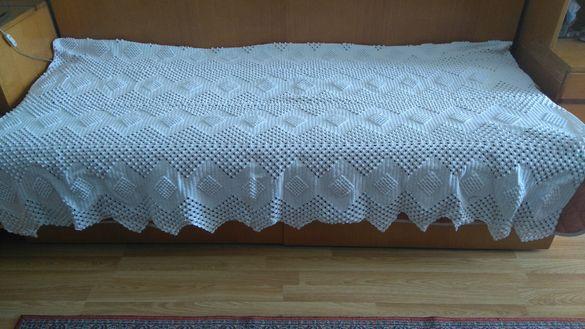 Шалте за единично легло - ръчна изработка (190x105)