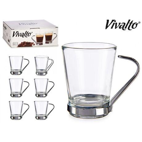 Страхотно! 6 стилни чаши за кафе със стоманени дръжки