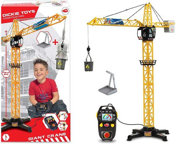 Промо цена 45лв !! Кран с дистанционно Dickie Toys, 1m височина