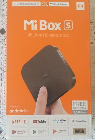 ТВ приставка Mi Box S.Новый 4k Ultra HD