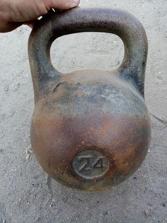 Гиря 24 килограмма