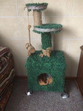 Продам домик для питомца с когтеточкой