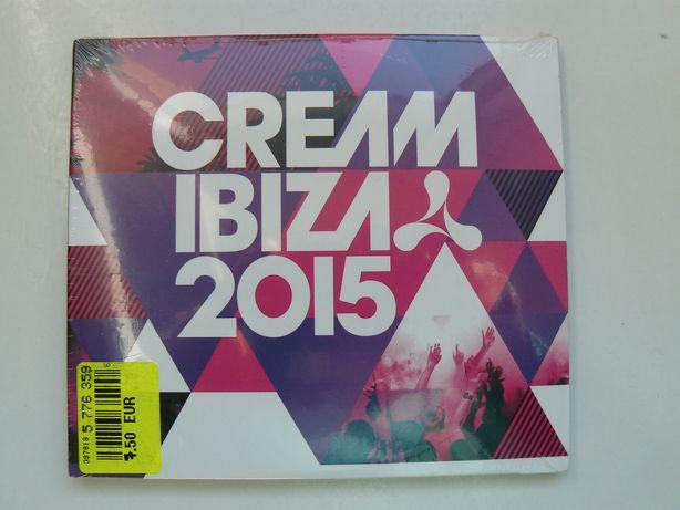 """CD Compilatie """"CREAM IBIZA 2015"""" Contine 3 CD-uri,Original,Raritate RO"""