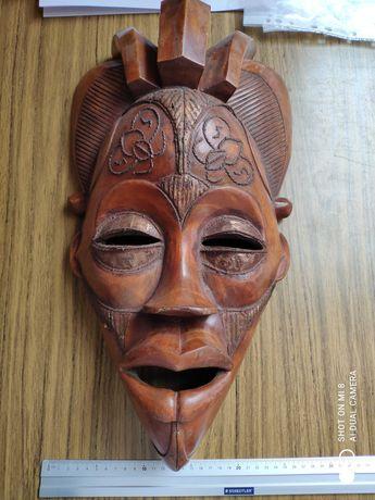 Mască Africa din lemn
