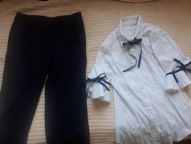 Школьный (дев) брюки и блузки.