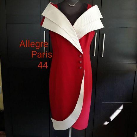 Rochie deosebită Allegre Paris 46, Haute Couture, de lux