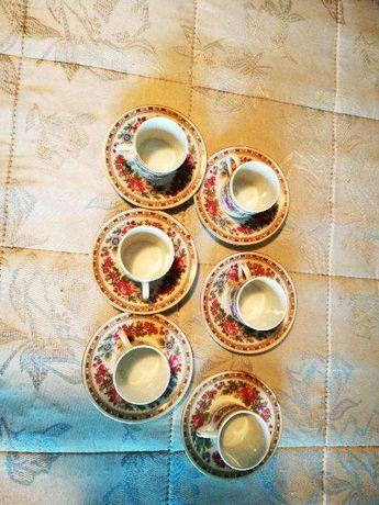 Set ceai china portelan fin