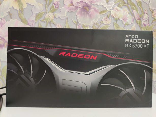 Новая видеокарта AMD Radeon 6700 XT 12 GB Founders Edition