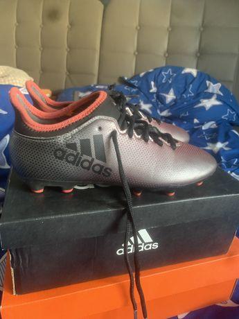 Ghete fotbal Adidas X
