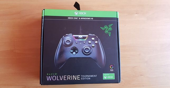 Xbox ONE Razer Wolverine Win 10
