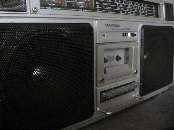 UNIVERSUM SUPER SOUND 16 000 CTR- 2605 Радиокасетофон - 80те