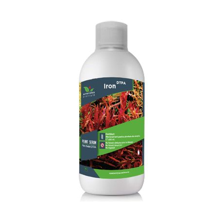 Fertilizant fier chelat lichid DTPA pentru plante de acvariu