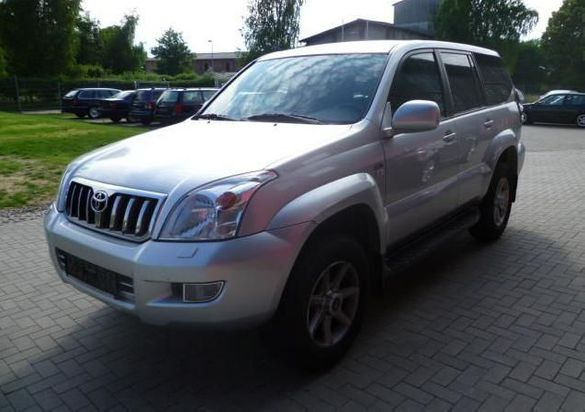 Toyota Land cruiser 3.0D4D на части