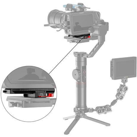 SmallRig Offset Kit BMPCC 4K & 6K and Ronin S, Crane 2,MozaAir BSS2403