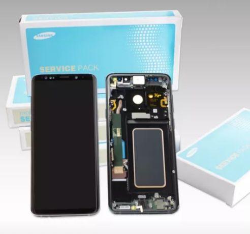 Display Samsung S9 Plus original AMOLED Factura Garanți Montaj pe loc
