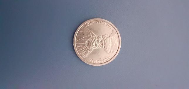 Moneda cu Mihai Viteazu de 100 lei din anul 1992