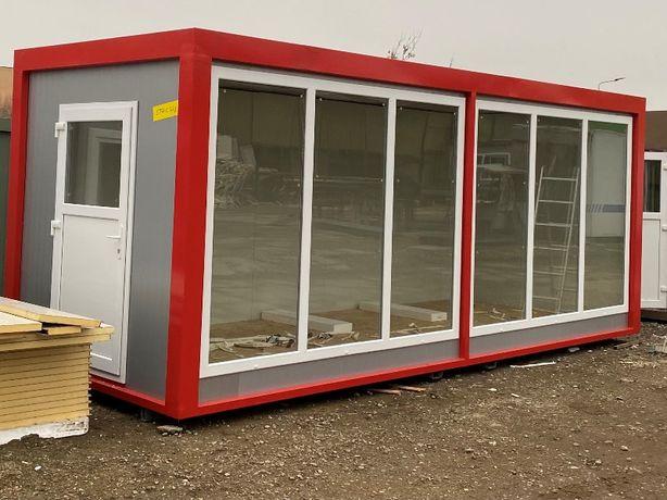 container santier organizare santier dormitor paznic