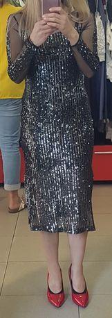 Официална рокля с пайети