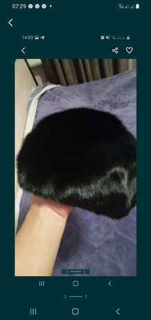 Продам норковая шапка