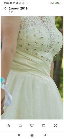 Платье свадебное. Очень красивое.
