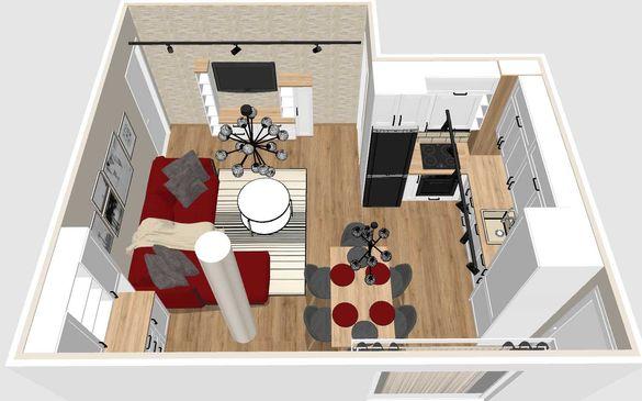 3D визуализации на стаи