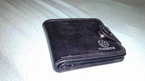 Портфейл / портмоне с лого на Фолксваген / Volkswagen