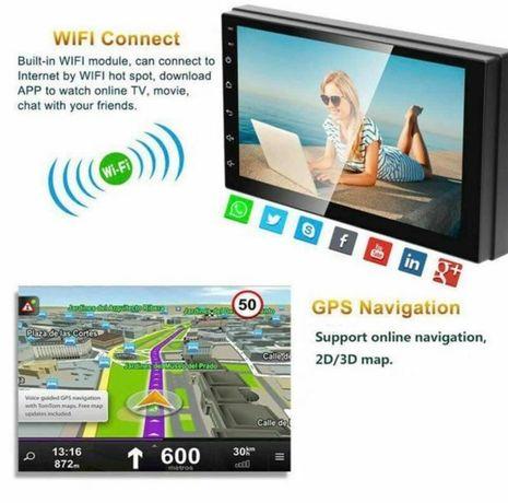 Navigatie auto universala 2din android 9.1 Nou oferta Bluetooth usb