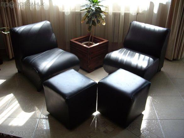 Мебели от естествена кожа